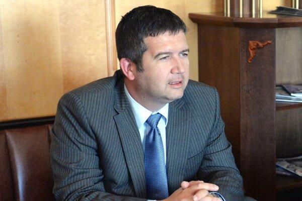 Jan Hamáček na archívnej snímke 2. júna 2017.