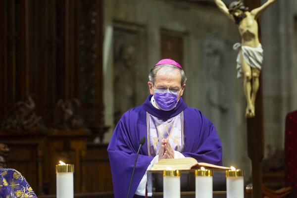 Arcibiskup Stanislav Zvolenský.