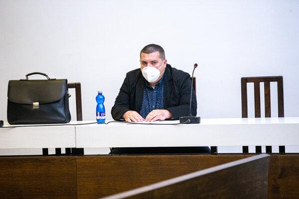 Člen ĽSNS Anton Grňo na Najvyššom súde.
