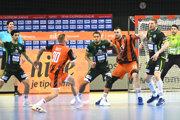 Zo zápasu Tatran Prešov vs. HK Košice.