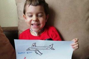 Malý Sebastiánko poletí do Bostonu už čoskoro.