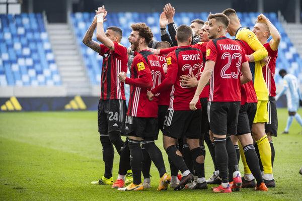 Spartak porazil v derby Slovan Bratislava