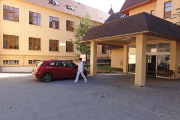 Nemocnica v Zlatých Moravciach.