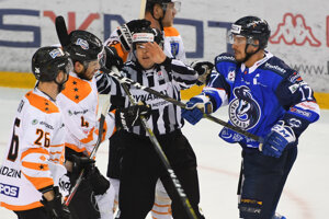 Záver štvrtého semifinále medzi Popradom a Michalovcami priniesol vybičované emócie.