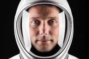 Astronaut Thomas Pesquet.
