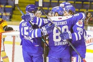 Všetky kanadské body Slovenska proti Nemecku dnes zapísali hokejisti Nitry!