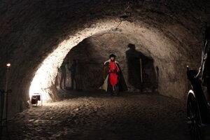 Z natáčania filmu o Oravskom hrade
