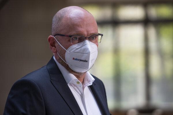 Minister hospodárstva Richard Sulík (SaS).