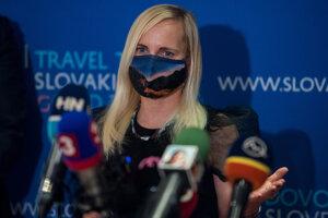Štátna tajomníčka ministerstva dopravy Katarína Bruncková.