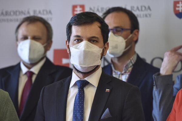 Podpredseda strany Za ľudí Juraj Šeliga.