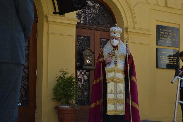 Gréckokatolícky arcibiskup Ján Babjak.