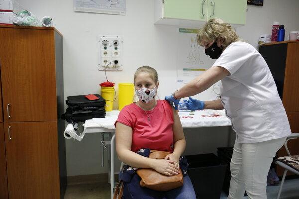 Očkovanie v Maďarsku.