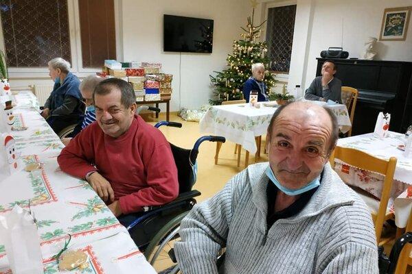 Štedrý večer v Domove sociálnych služieb v Pezinku.
