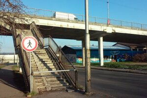 Vstup na schody zakázali v roku 2015.