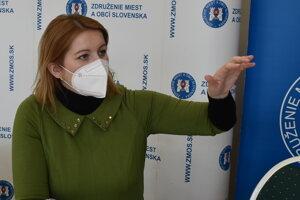 Zuzana Germanová, starostka obce v Bardejovskom okrese.