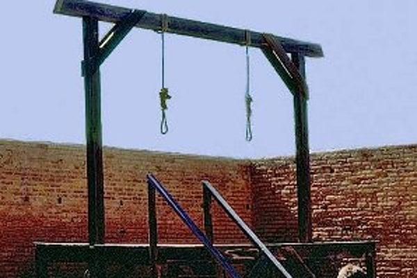 Slučka patrila v nitrianskej župe k jemnejšiemu spôsobu popravy.