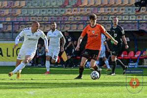 Momentka zo zápasu MFK Ružomberok - FK Senica