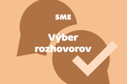 Výber rozhovorov (newsletter SME).