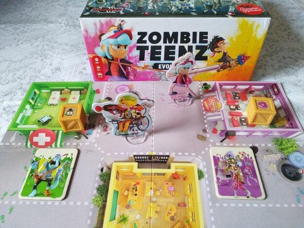 Hra Zombie Teenz.