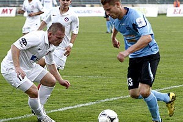 Vratislav Gajdoš nedohral ani len prvý polčas duelu s Trenčínom.