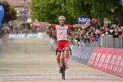 Victor Lafay vyhral 8. etapu na Giro d'Italia 2021.