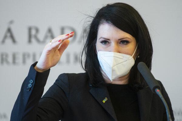 Poslankyňa Jana Bittó Cigániková.