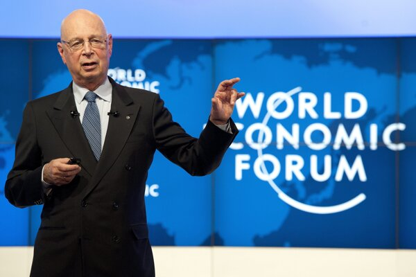 Zakladateľ Svetového ekonomického fóra Klaus Schwab.