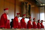 Sudcovia nemeckého ústavného súdu. Ilustračná fotografia.