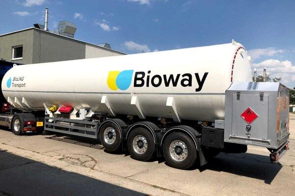 Cisterna spoločnosti Bioway
