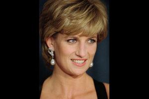 Princezná Diana na snímke z roku 1995.