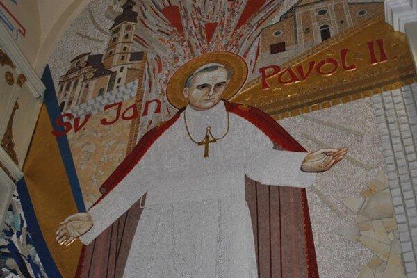 Sv. Jánovi Pavlovi II. udelil Prešov čestné občianstvo in memoriam.