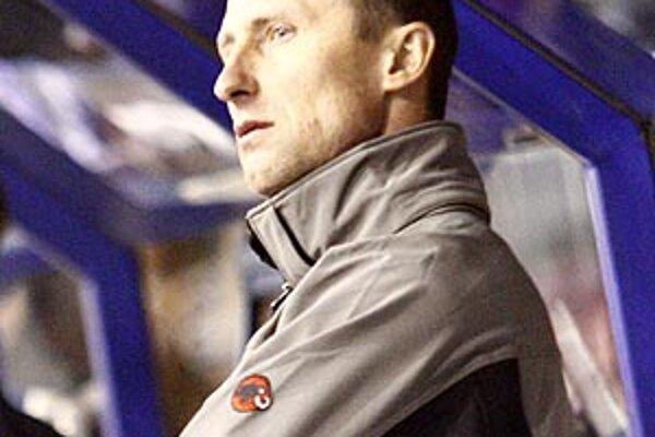 Tréner Nitry Antonín Stavjaňa.