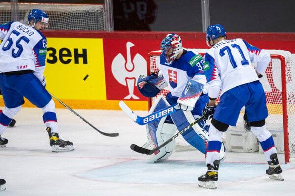 Martin Bučko hral v obrannej dvojici s Marekom Ďalogom.