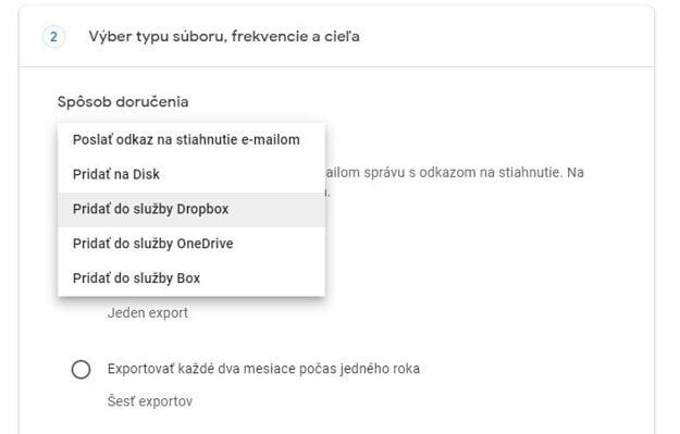 Krok 5: Všetky fotky z Google Foky si môžete dať zaslať na email ako odkaz na stiahnutie.