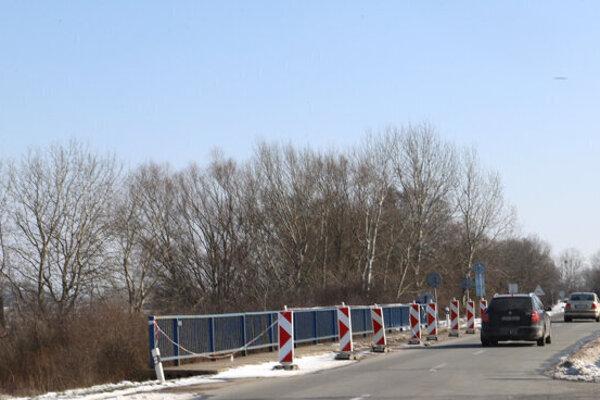 Poškodený most v Stretave čakajú ďalšie obmedzenia.