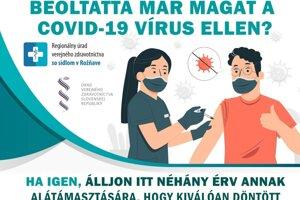V okrese Rožňava kolujú medzi obyvateľmi letáčiky propagujúce očkovanie aj v maďarskom jazyku.