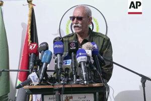 Vodca hnutia usilujúceho sa o nezávislosť Západnej Sahary od Maroka Brahim Ghali.