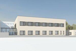 Nové neurologické oddelenie v sninskej nemocnici bude v samostatnej novopostavenej budove.