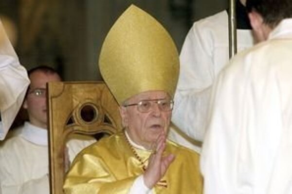 Kardinál Korec.