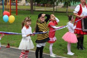 Deti sa môžu tešiť z vynovených priestorov.
