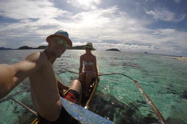 Natália a Matúš zažili nezabudnuteľné dobrodružstvo na opustenom ostrove na Filipínach.