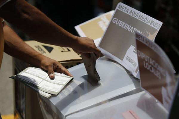 Voľby v Mexiku sprevádza násilie.