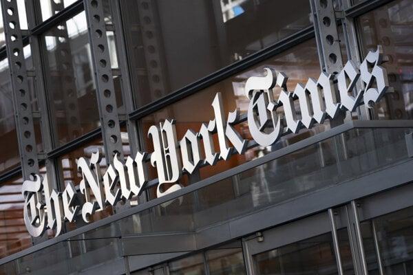 Sídlo The New York Times.