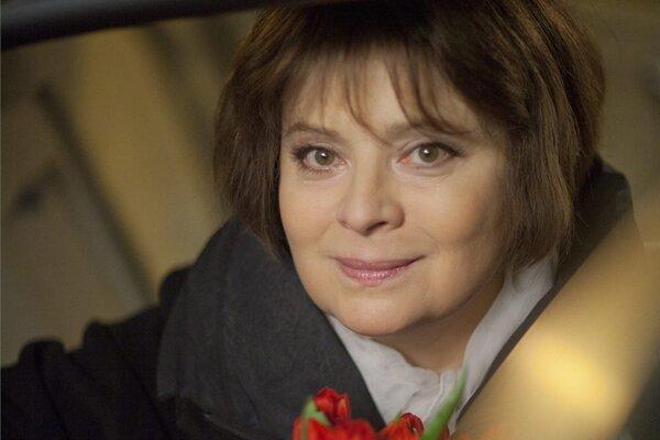 Libuše Šafránková vo filme Přijde letos Ježíšek?