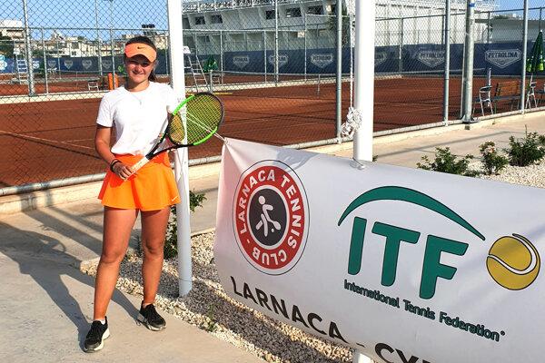 Nelly Vighová odohrala juniorský turnaj ITF na Cypre.