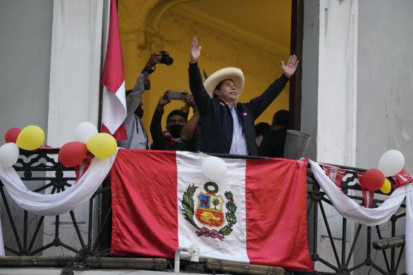 Pedro Castillo (Zdroj: SITA)