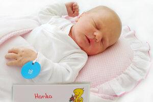 Hanka Hanusková z Pravenca sa narodila 31. 5. 2021 v Bojniciach