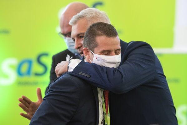 Štátny tajomník Martin Klus a minister zahraničia Ivan Korčok.
