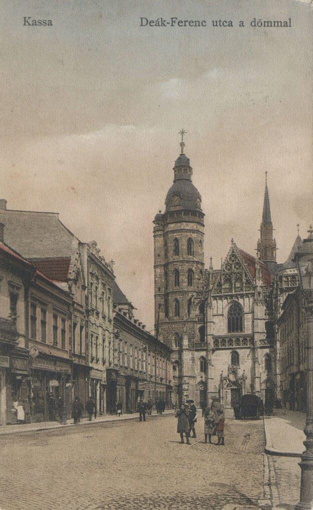 Alžbetina ulica v minulosti.
