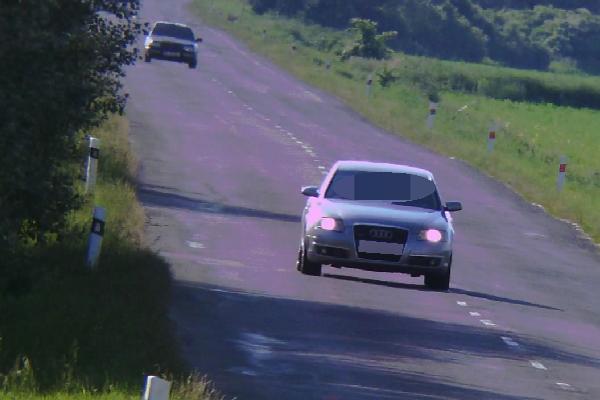 Toto vozidlo prekročilo rýchlosť o 89 km/h.